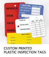 ISA Print » Plastic Tags - Custom Printed or Blank, 12